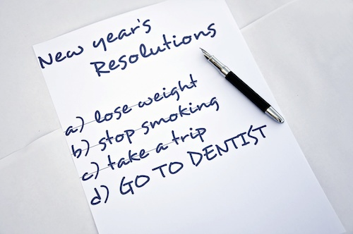 Tips from a Columbus, Indiana dentist to increase dental health in the new year.